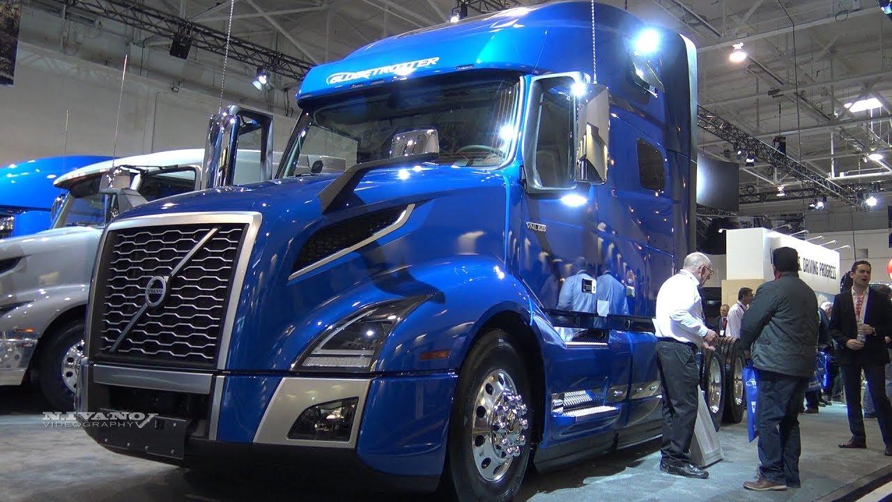 2019 Volvo VNL 64T 760 - Exterior And Interior Walkaround - Truck World 2018 - YouTube