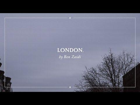 Ben Zaidi – London. (Lyric Video)