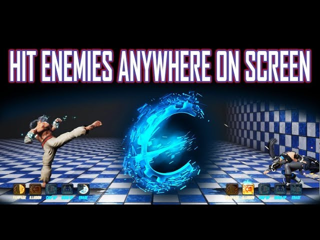 Let's Find: Hit Enemies Anywhere On The Screen