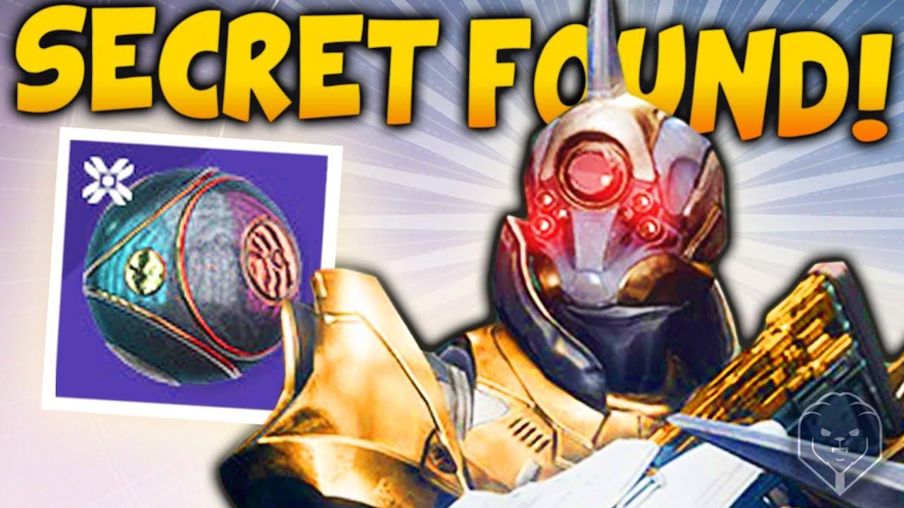 Destiny 2 Pyramid Secrets Revealed New Easter Egg Hidden Loot Mystery Symbols Dark Guardian
