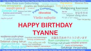 Tyanne   Languages Idiomas - Happy Birthday
