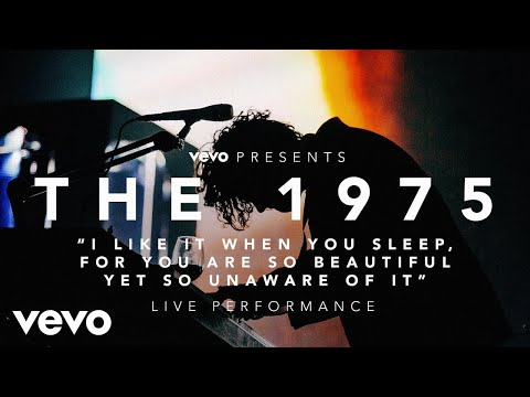 I like it when you sleep, for you are so beautiful yet so unaware of it - (Vevo Present...