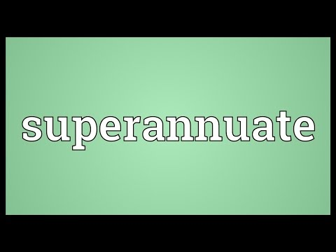Header of superannuate