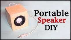 How to make Speaker Box from Cardboard at Home