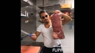 Salt Bae un Chef cuisine pas comme l'autres ( TOP 5 video ) 04/04/2017