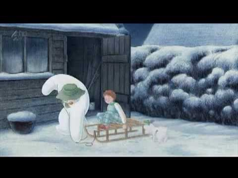 Снеговик и снежный пес мультфильм