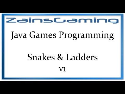 Java Games Programming Tut07 - Snakes & Ladders V1 (Code)