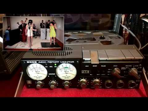 UHER 4400 REPORT MONITOR  Music of: Bad Romance  Vintage 1920s Gats Style