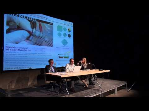 Energy on the Body -- Computational Fashion panel at Eyebeam