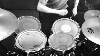 """УРОКИ БАРАБАНОВ ,ИГРА НА БАРАБАНАХ """"Enter Sandman"""" Metallica.Дмитрий - 5 мес. обучения в МузШок"""