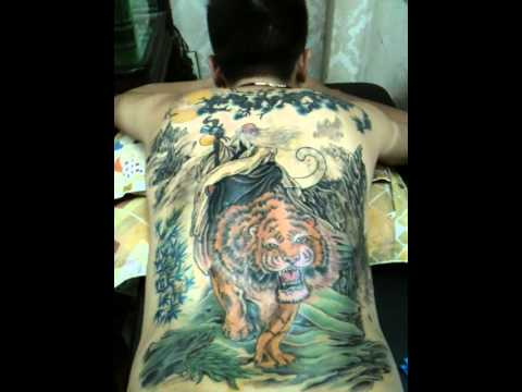Huy tattoo Xăm Tien Ong Cuoi Ho 0972729683