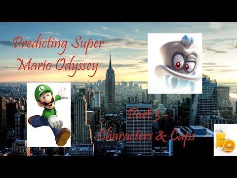 Predicting Super Mario Odyssey - Part 3 - Characters & Caps (Final)