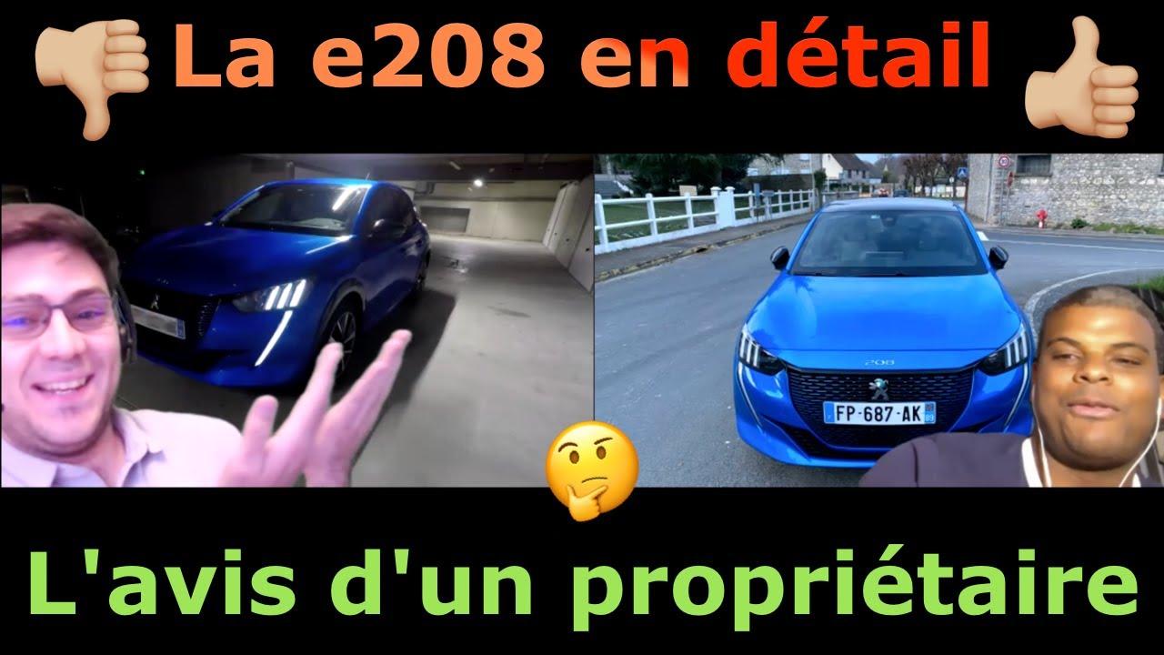 La Peugeot e-208 en détail : L'avis d'un abonné propriétaire depuis mars 2020