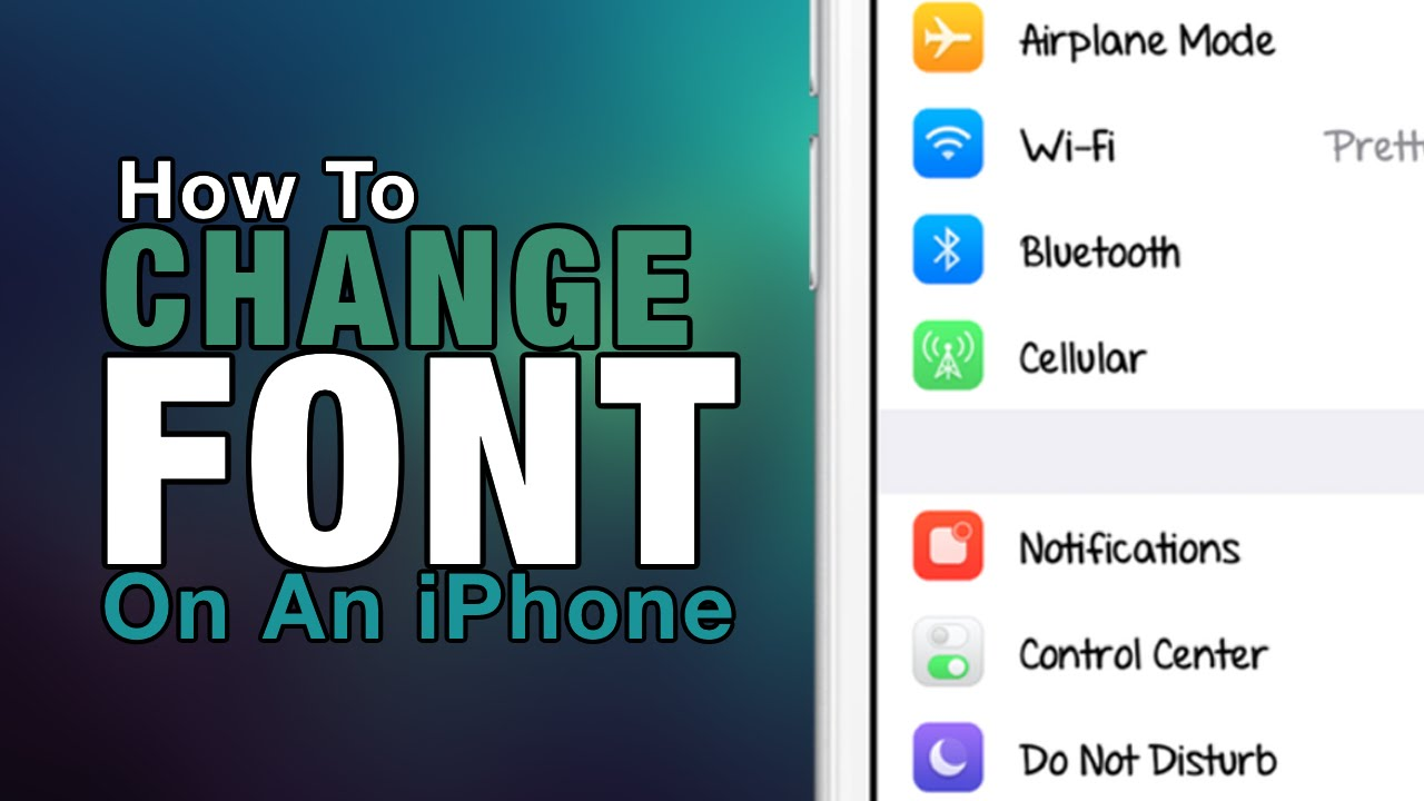 change iphone font how to change font on your iphone ipod touch 2016 6999