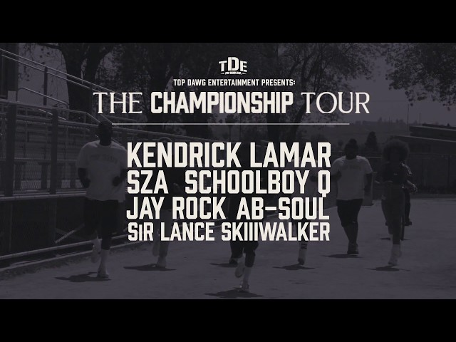 TDE Presents The Championship Tour 2018