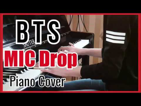 BTS (방탄소년단) - MIC Drop - Piano Cover (피아노) - With Chords