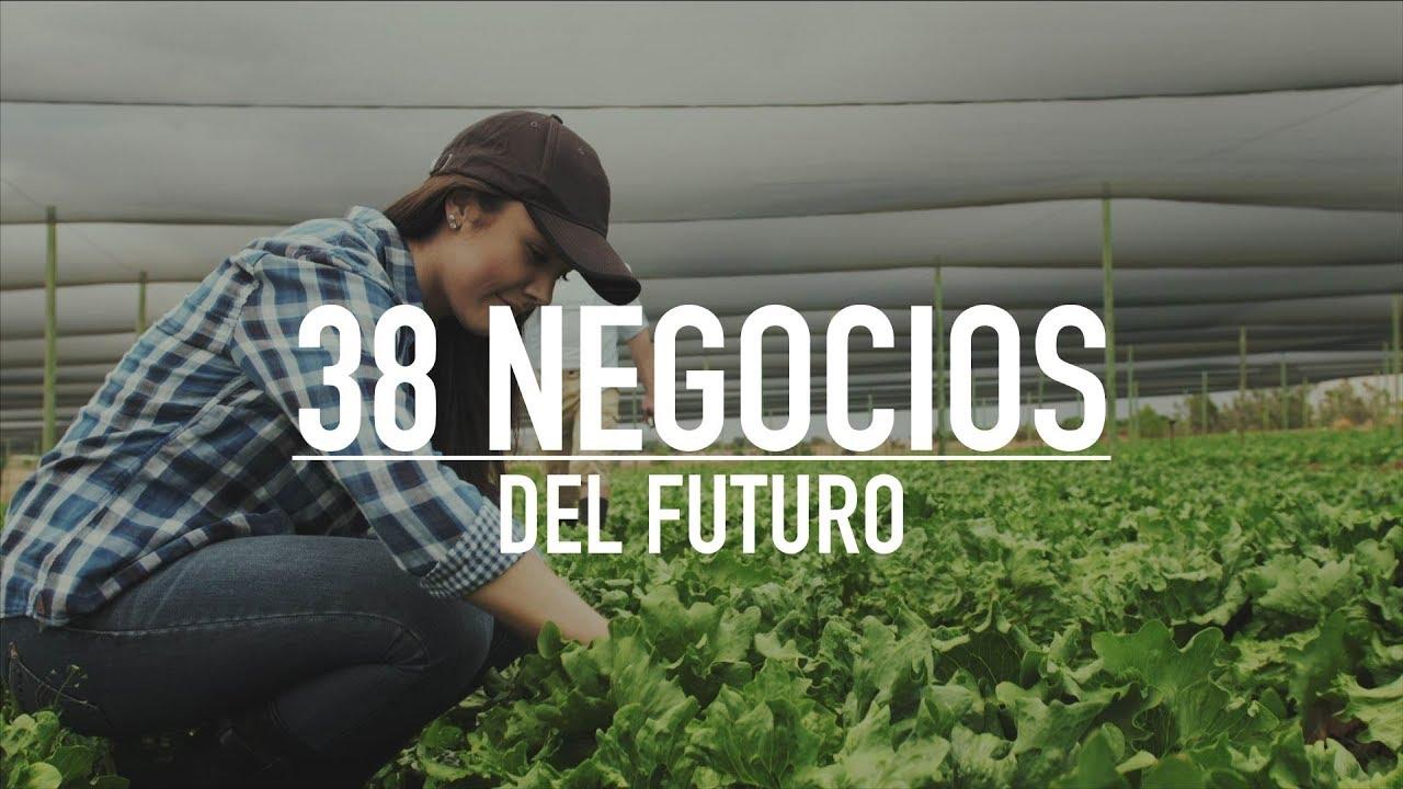 Los 38 Negocios Mas Rentables Del Futuro 2018 Youtube