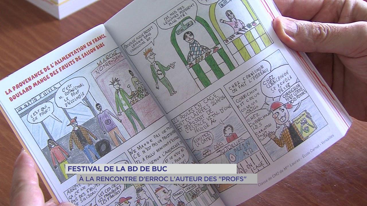 Festival de la BD de Buc : à la rencontre d'Erroc l'auteur des «Profs»