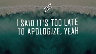 OneRepublic - Apologize [Lyrics Lyric Video] (Tom Wilson Remix)