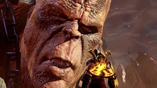 god of War 3 PS4 - Cronos Titan Boss Fight (1080p 60fps) Father of Zeus