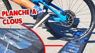 FLAT TIRE | LONG JUMP CHALLENGE MOUNTAINBIKE