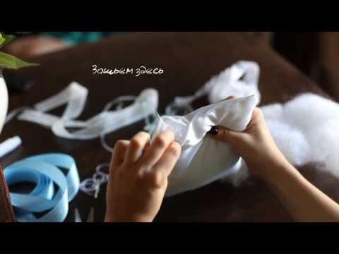 Мастер-класс: подушечка для колец   DIY Wedding Ring Pillow