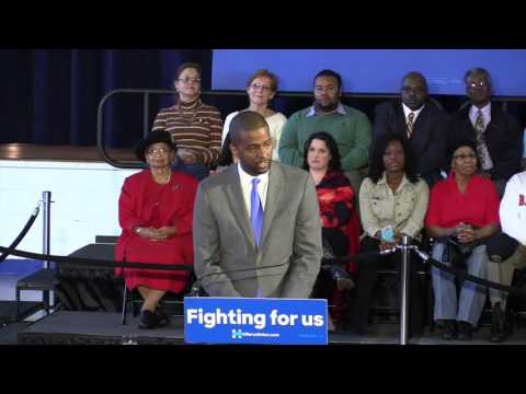 VIDEO: Bakari Sellers introduces Hillary Clinton in home town
