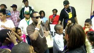 "SHAWTY LO  MAKES A KIDS DREAM COME TRUE BY DOING ""THEY KNOW"" AT HIS BDAY PARTY 2009"