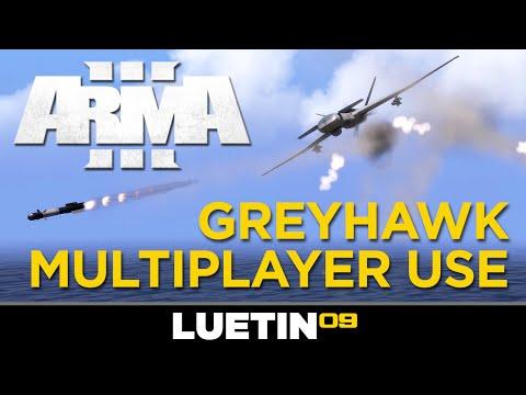 Arma 3 | Greyhawk UAV Tutorial | Multiplayer Use