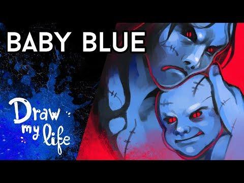 La TERRORÍFICA HISTORIA de BABY BLUE - Creepy Draw
