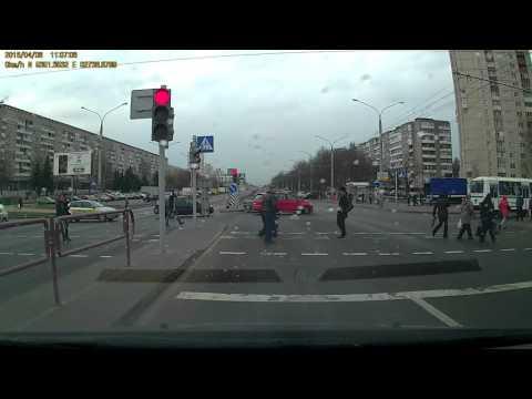 ДТП на Рокоссовского, Минск, 08.04.2016, 11:08
