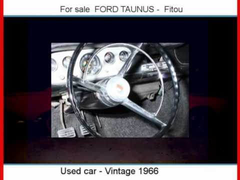 Sale one FORD TAUNUS  Fitou  Aude