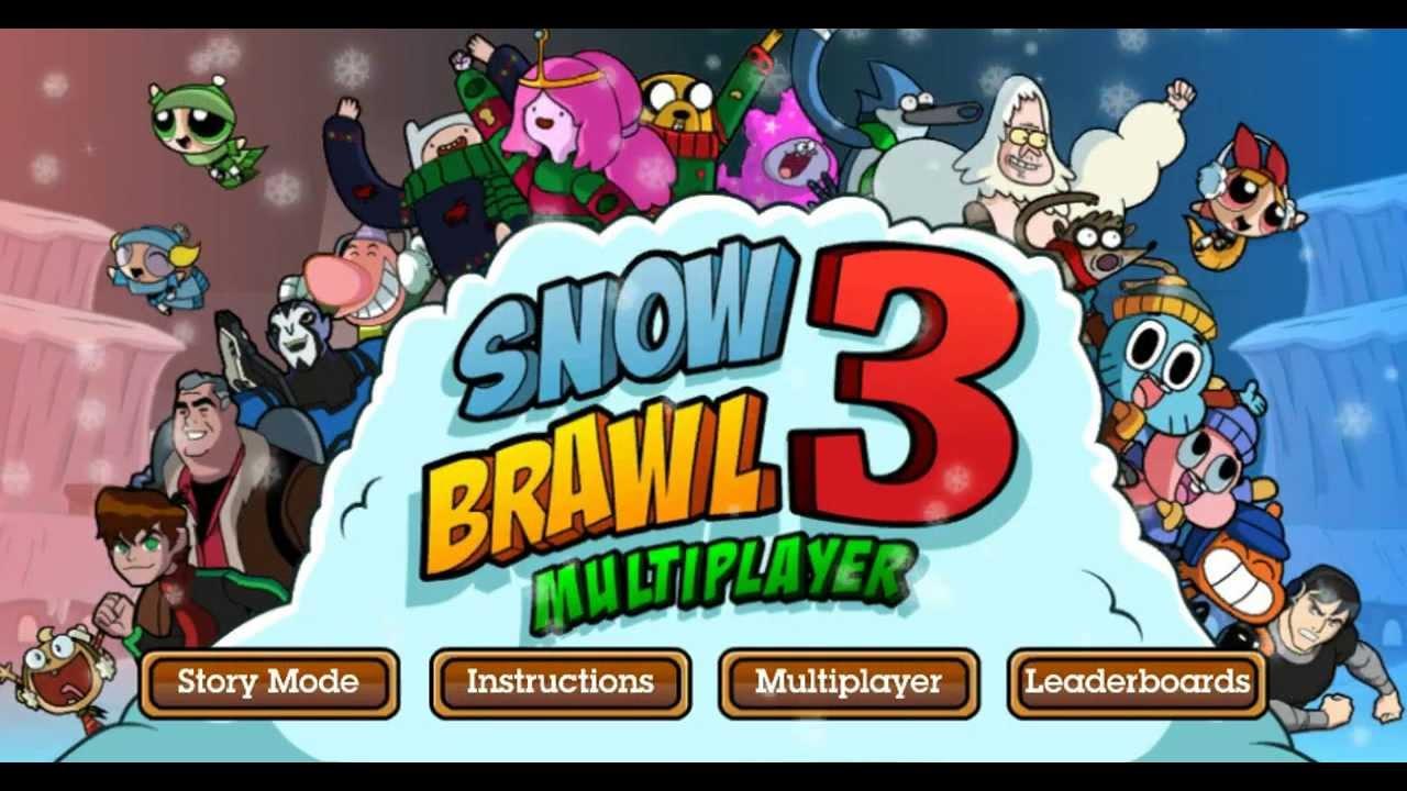 Snow Brawl Fight 3- Cartoon Network Games | Doovi