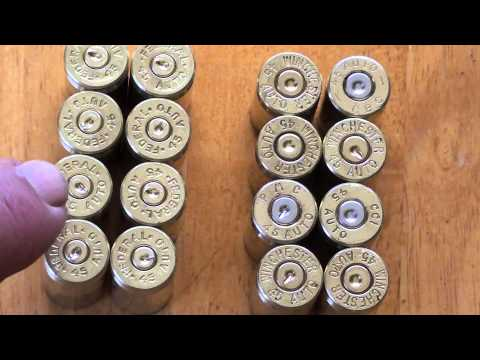 Reloading 45acp Warning! Heads Up