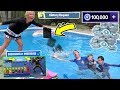 Fortnite Kid Gets Playstation Thrown in Pool by Angry Mom for Buying V Bucks! | DavidsTV