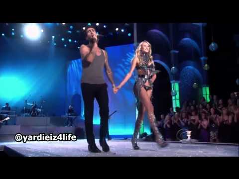 Видео, Maroon 5 - Moves Like Jagger, Victorias Secret Fashion Show Live Performance.mp4
