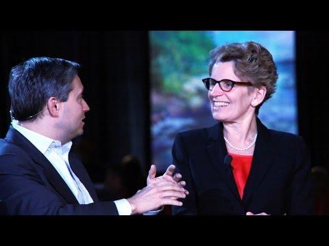 #Lib14 Interview - Kathleen Wynne, première ministre de l'Ontario