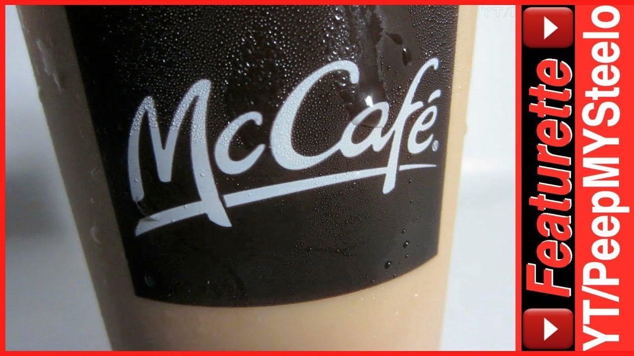 McDonalds Iced Coffee w/ Caffeine in McCafe Drinks Menu w ...