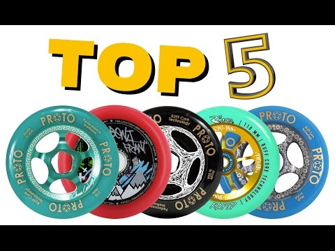 TOP 5 BEST PRO SCOOTER WHEELS