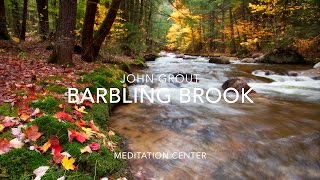 NATURE SOUNDS Relaxing Nature Sound Of Babbling Brook No