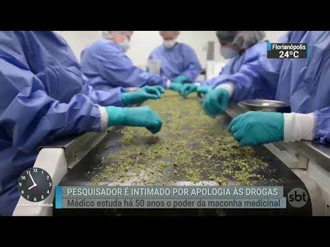 Especialista no uso medicinal da maconha é intimado pela polícia | SBT Brasil (24/02/18)
