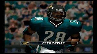 Madden NFL 2001 | Oakland Raiders vs Jacksonville Jaguars | AFC Wild Card (1st Half)