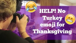 Help! No Turkey Emoji For Thanksgiving!