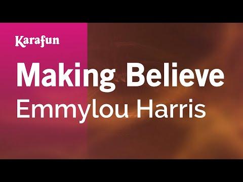 Karaoke Making Believe - Emmylou Harris *