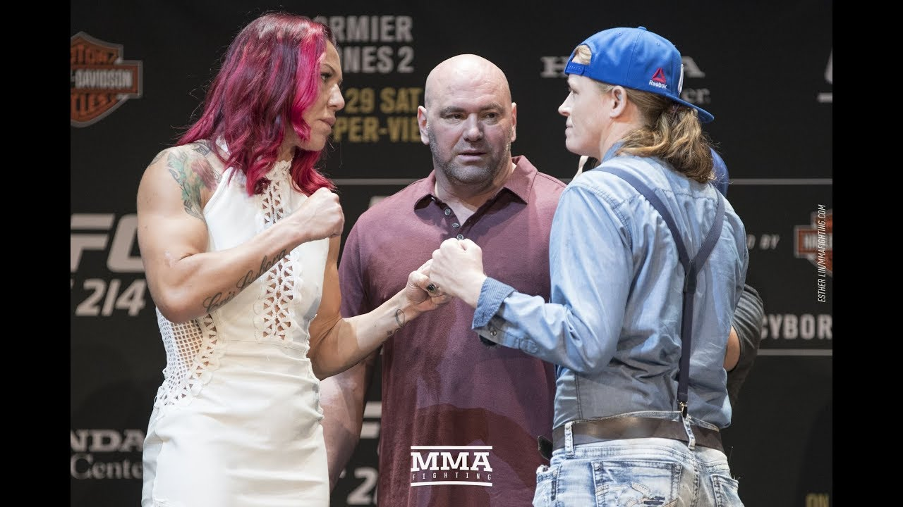 "Image result for Cris ""Cyborg"" vs. Tonya Evinger"