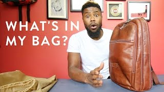 What's In My Bag? | 2016  Mens Essentials | The New Collections
