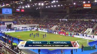 Все голы матча Россия Португалия на Кубке Легенд 2020
