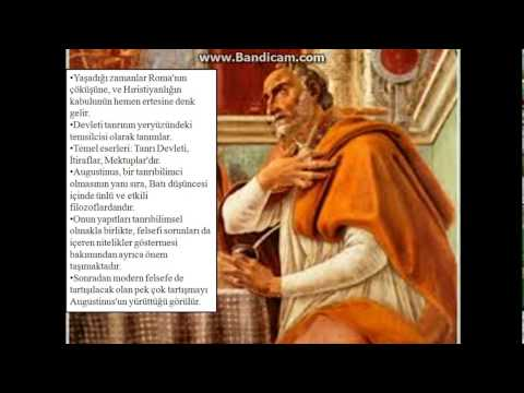 St. Augustinus Kimdir?