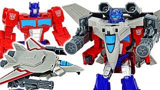 Transformers Optimus Prime Power of the Spark Armor Sky Turbine mounted! DuDuPopTOY