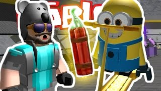 THINK'S LAB IN ROBLOX!? | Minion Factory Tycoon | ROBLOX